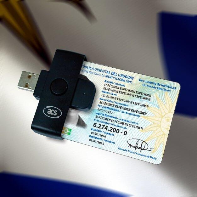 Lectores de Cédula de Identidad electrónica en Uruguay