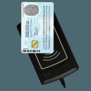 lectores de cedula de identidad acs neodata rfid sin contacto